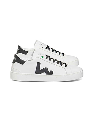 Vegan sneakers - white black